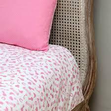 Single Bed Duvet Horse Pink Single And Cot Bed Duvet Set By Em U0026lu