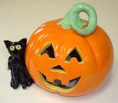ceramic pumpkins clay projects and ideas for children ceramic classes