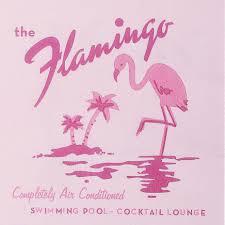 happy hour pink flamingo retro cocktail napkins l putti fine
