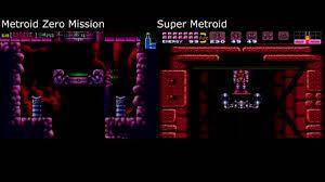 Metroid Nes Map Crateria U0026 Brinstar Comparison Metroid Zero Mission Super