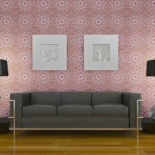 Temp Wallpaper by Temporary Wallpaper Medallion Berry U2013 Dormify