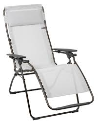 Folding Recliner Chair Shop Lafuma Futura Clipper Folding Recliner Mesh Chair Nuage