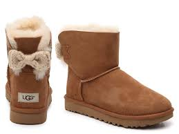 ugg mini bailey bow on sale ugg boots slippers moccasins dsw