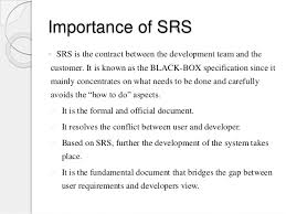 2 software requirement specification
