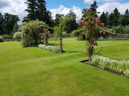 part of the walled garden picture of ballindalloch castle