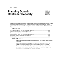 planning domain controller capacity active directory windows