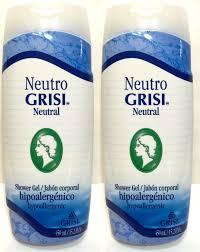grisi shower gel 8 listings neutro grisi neutral hypoallergenic shower gel jabon corporal hipoalergenico 2pk 22 99