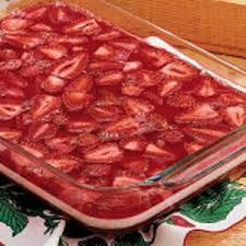 summertime strawberry gelatin salad recipe taste of home