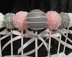 pink and gray baby shower grey baby shower etsy