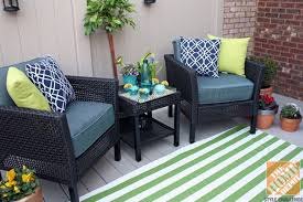 Small Outdoor Rug Small Deck Decorating Ideas By Of Eat Drink Shop