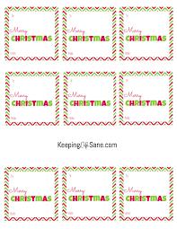 free christmas gift tags printable squares keeping life sane