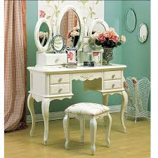french dressing table white painted indonesia furniture