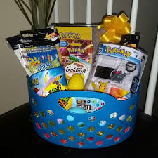 filled easter baskets boys pre filled easter basket gift nickelodeon boy