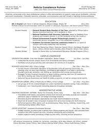 Bachelor Degree Resume Dietetics Section Materials