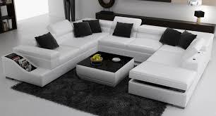 canapé haut de gamme canapé cuir d angle design pas cher