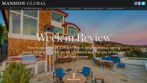 mansion global week in review mansion global news u0026 features pinterest