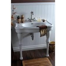 kingston brass console sink cierra console sink with brass stand 8 faucet center beach