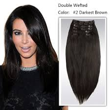cheap clip in hair extensions deluxe wefted clip in hair extensions 100 human