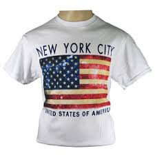 Flag Of New York City Nyc American Flag T Shirt