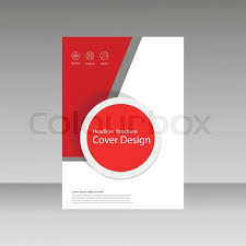 abstract brochure design template flyer design book print