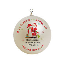 grandparent christmas ornaments our christmas as and grandparents custom gift 5