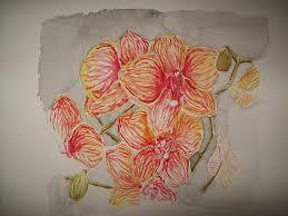 watercolor orchid tattoo watercolor orchid tattoo orchid tattoo