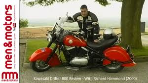 kawasaki drifter 800 review with richard hammond 2000 youtube