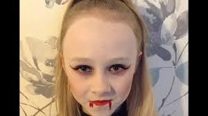 easy vampire face paint make up tutorial design easy guide children s face painting tutorial