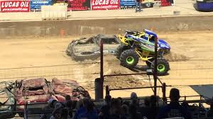 monster truck shows in indiana mini monster truck at indiana state fair youtube