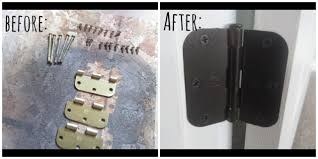 Spray Paint Cabinet Hinges by How To Update Gold Hardware For Under 10 Youtube