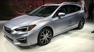 subaru impreza sedan 2017 subaru impreza sedan and hatch debut at new york auto show