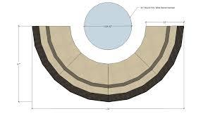 Sectional Sofas Dimensions Circular Sofa Dimensions Sofa And Sofas Decoration