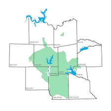 Frisco Texas Map Our Water Supply Frisco Tx Official Website