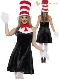 cat in the hat costume cat in the hat costume adults dr seuss fancy dress