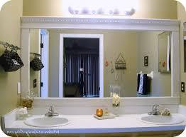 frames for bathroom mirrors home design inspiration ideas and