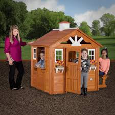 backyard discovery summer cottage playhouse outdoor games