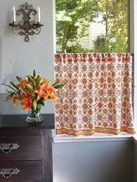 Gold Kitchen Curtains by Shimmering Goldstone Orange Rust Spice U0026 Gold Kitchen Curtain