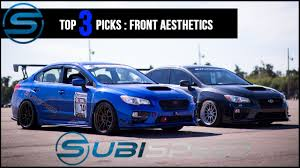 exterior usa vs jdm different front grille subaru impreza subispeed top 3 picks front aesthetic mods youtube