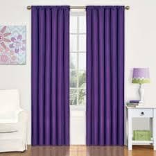 Blackout Purple Curtains Purple Curtains Drapes Window Treatments Home Decor Kohl S