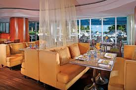 Beach Dining Room by Bistro One Lr The Ritz Carlton South Beach