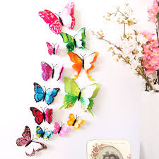 online get cheap butterfly bathroom sticker aliexpress com