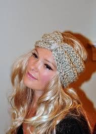 crochet ear warmer headband turban headband crochet wrap knit ear warmer earwarmer