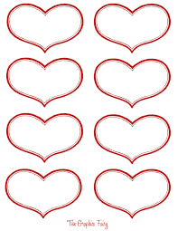 free coloring printable valentine hearts