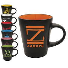 custom printed cafe style ceramic mugs 12 oz coffee mug