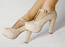 wedding shoes ivory ivory lace wedding wedge t platform women shoes fd5399