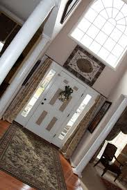 superb sidelight curtains in traditional dc metro with palladian Curtains For Palladian Windows Decor