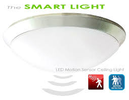 Motion Sensor Ceiling Light Led Ceiling Light With Motion Sensor And Led Smart Logic 580x450px