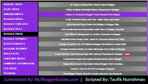 Sitemap Blog Tabbed Table Of Contents Html Sitemap Page Widget For Blogger