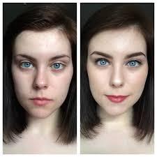 before after dewy bronze summer makeup rebrn com