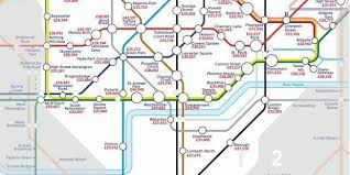 map of the underground in the underground map of salaries indy100